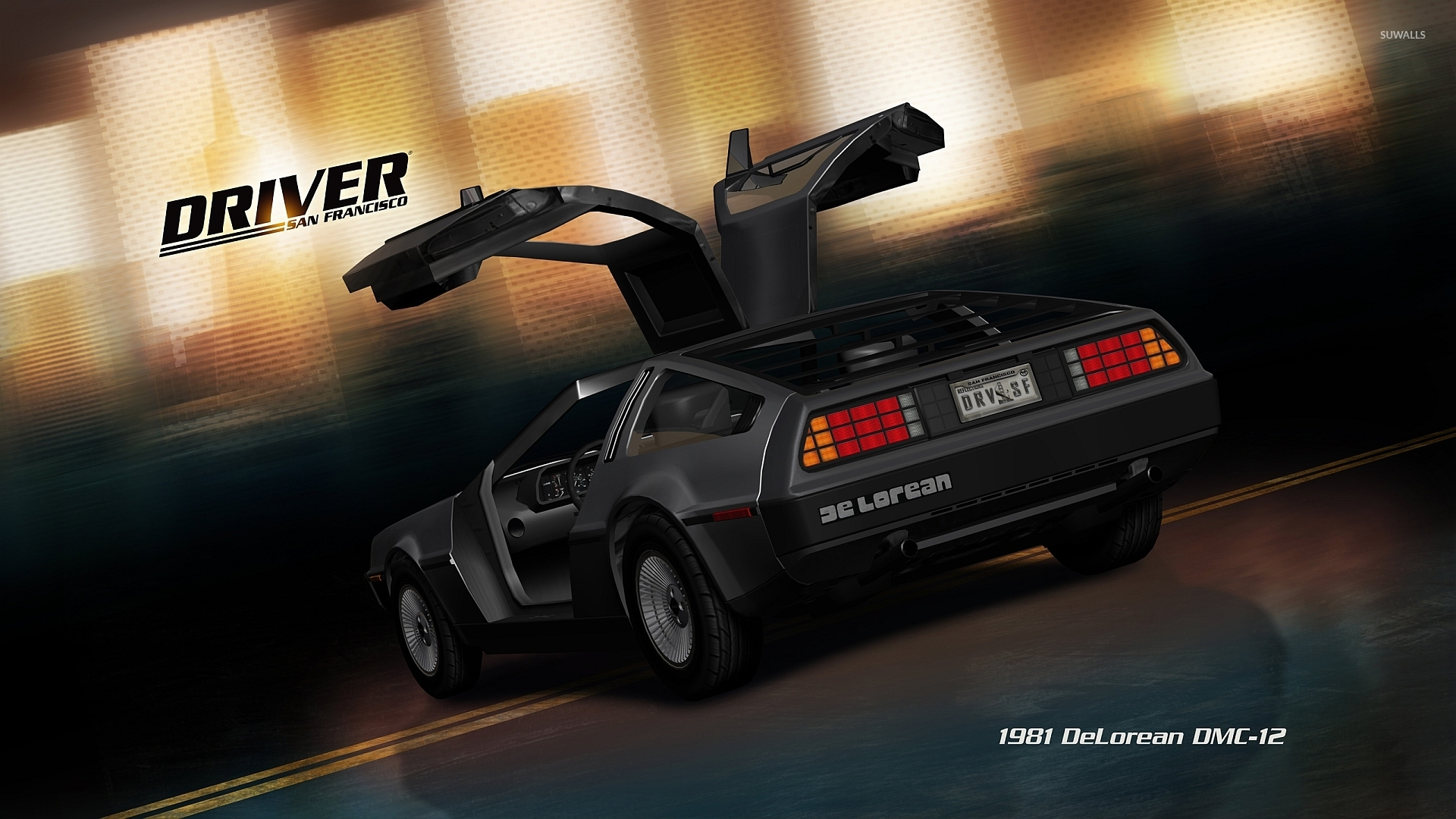 delorean wallpaper download - photo #20