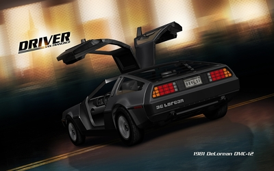 1981 DeLorean DMC-12 - Driver: San Francisco wallpaper