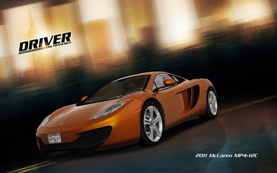 2011 McLaren MP4-12C - Driver: San Francisco wallpaper