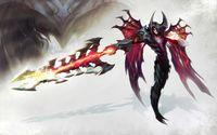 Aatrox - League of Legends wallpaper 2560x1600 jpg