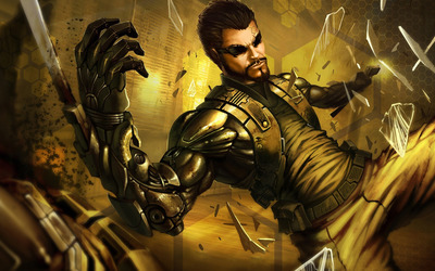 Adam Jensen - Deus Ex: Human Revolution [4] wallpaper