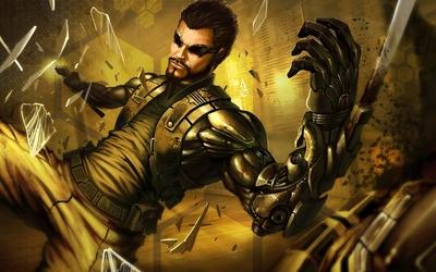 Adam Jensen - Deus Ex: Human Revolution [5] wallpaper