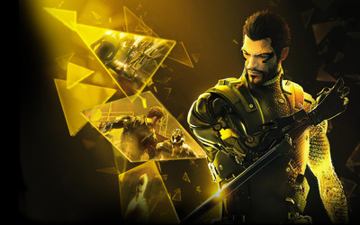 Adam Jensen - Deus Ex The Fall wallpaper
