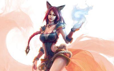 Ahri - League of Legends wallpaper