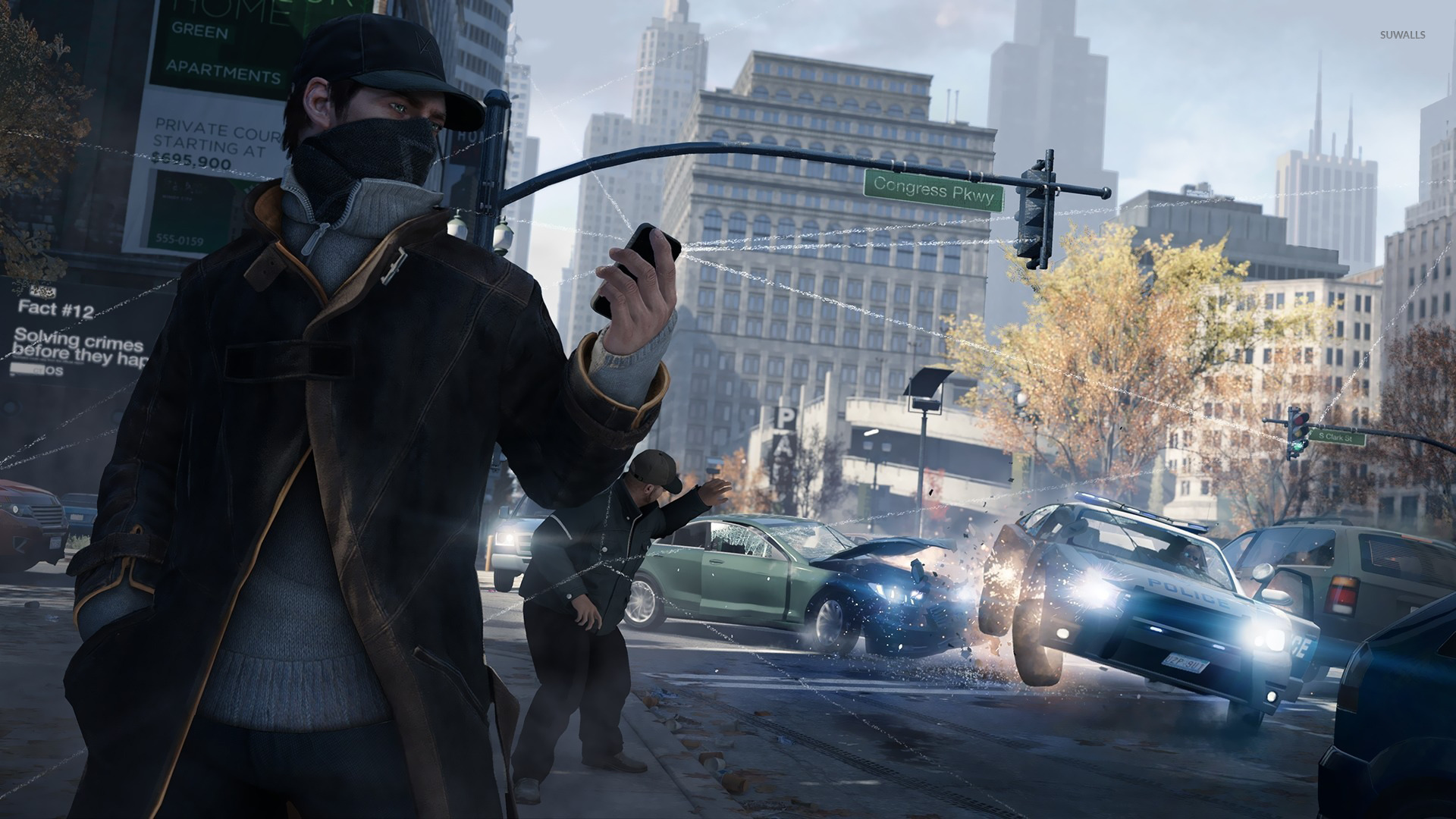 Aiden Pearce Watch Dogs 14 Wallpaper Game Wallpapers