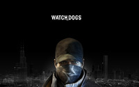 Aiden Pearce - Watch Dogs wallpaper 1920x1080 jpg