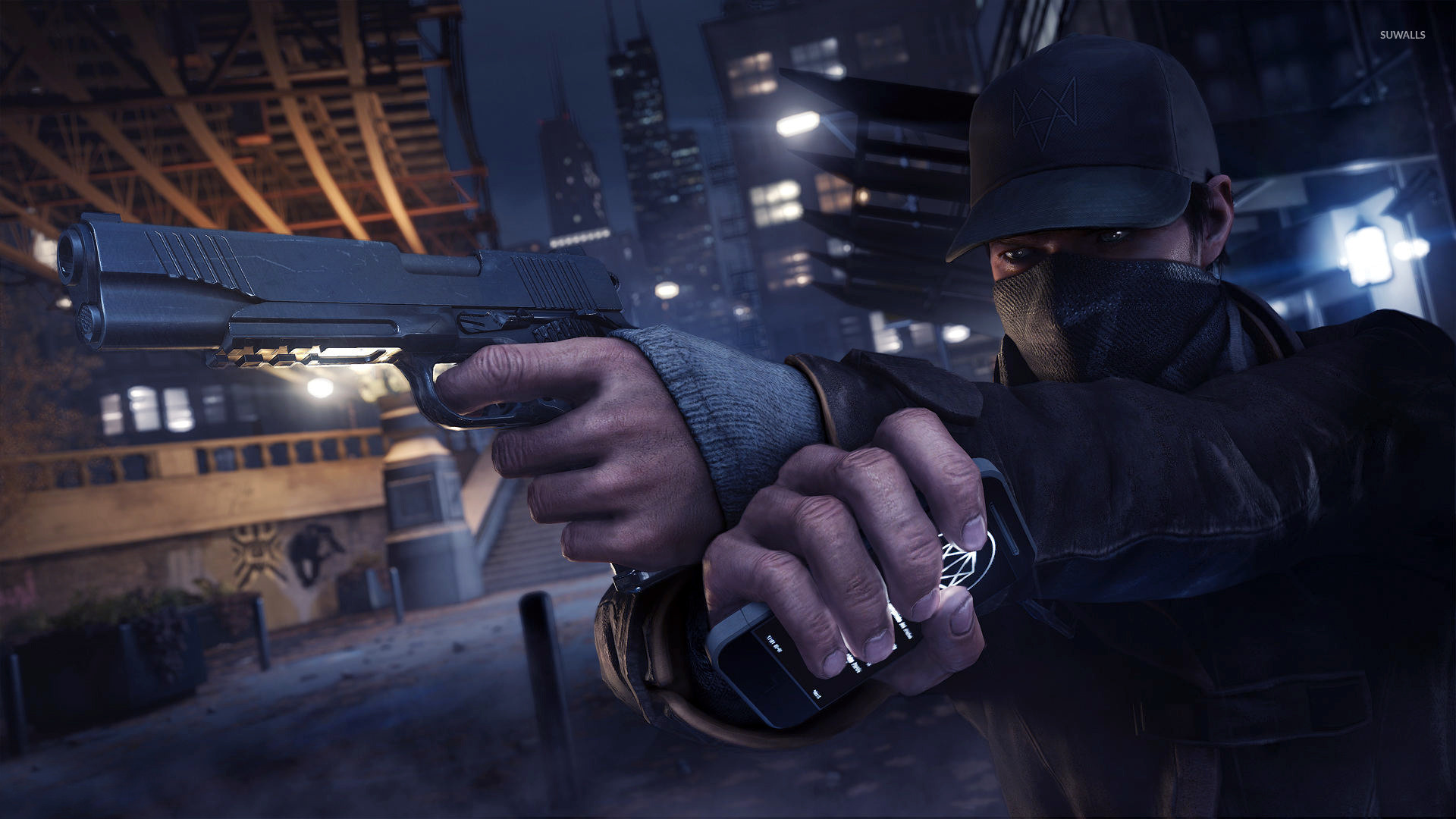 Aiden Pearce Wallpapers