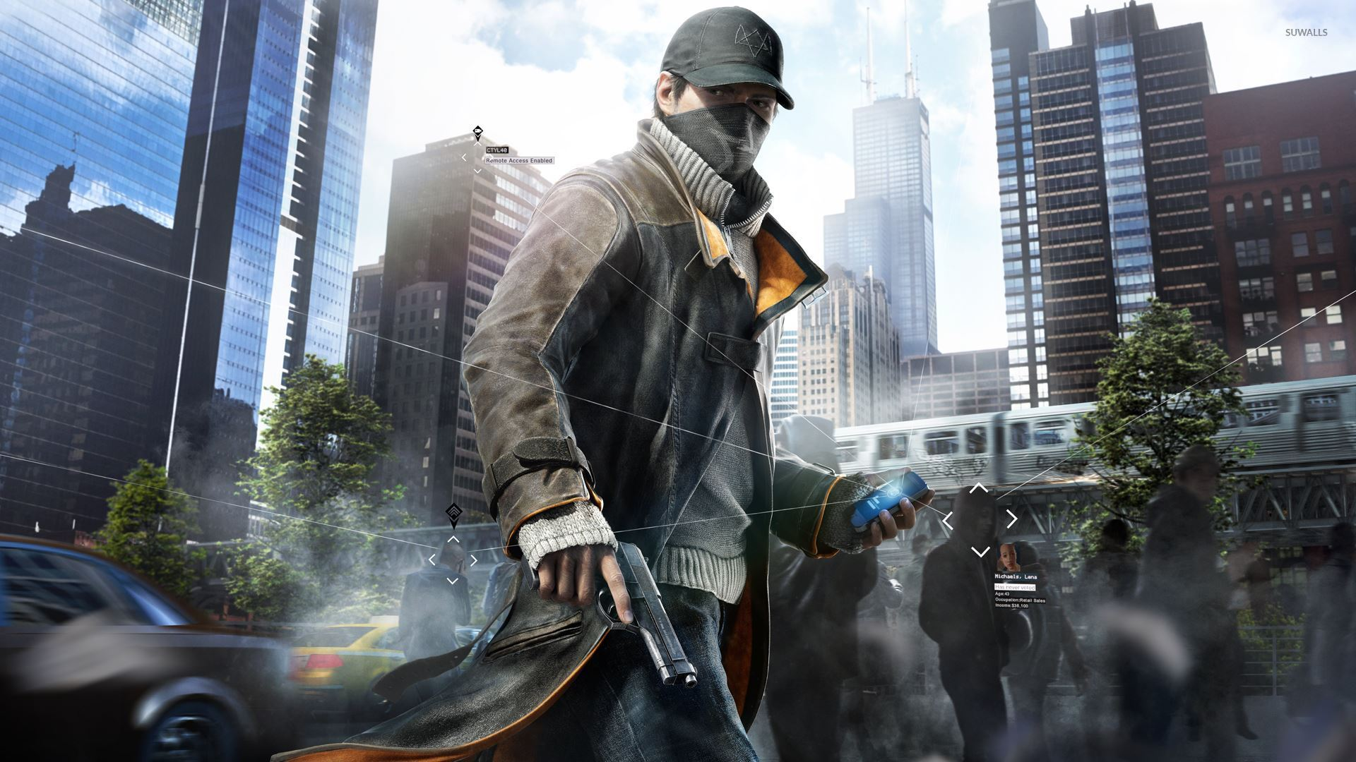 Aiden Pearce Watch Dogs 2 Wallpaper Game Wallpapers 30624