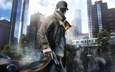 Aiden Pearce - Watch Dogs [2] wallpaper