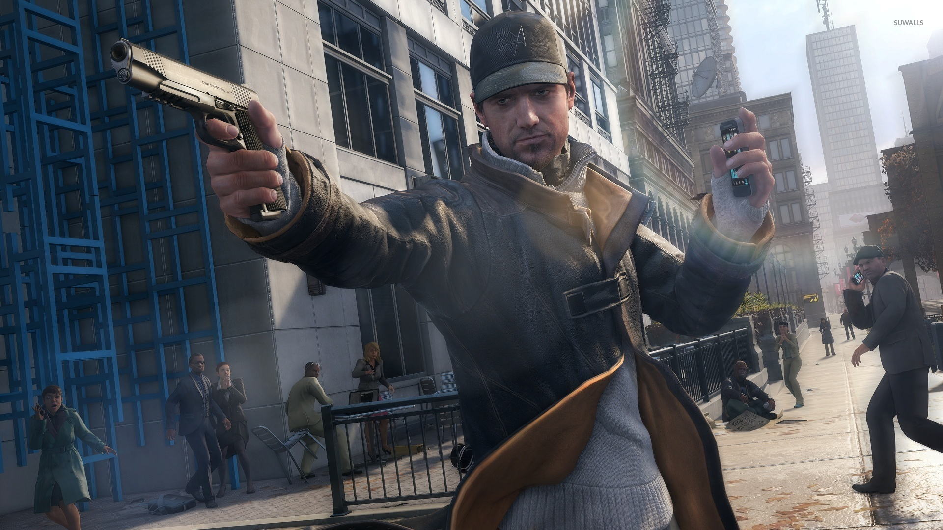 Aiden Pearce Watch Dogs 12 Wallpaper Game Wallpapers