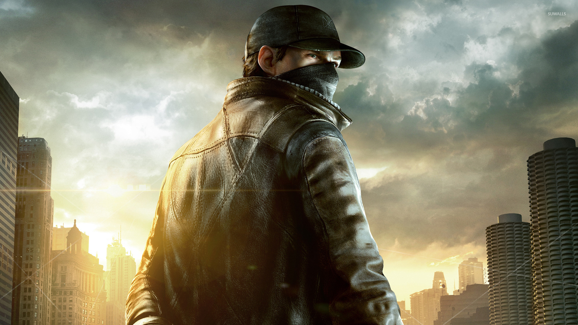 Aiden Pearce Watch Dogs 7 Wallpaper Game Wallpapers
