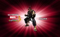 Akuma - Ultimate Marvel vs. Capcom 3 wallpaper 2560x1600 jpg
