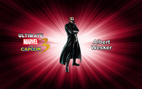Albert Wesker - Ultimate Marvel vs. Capcom 3 wallpaper 2560x1600 jpg
