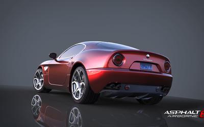 Alfa Romeo 8C Competizione - Asphalt 8: Airborne wallpaper