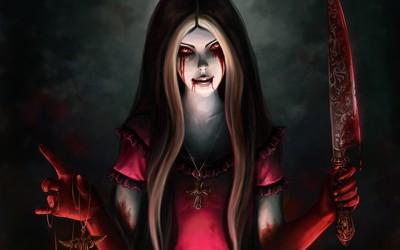 Alice Liddell- Alice-Madness Returns wallpaper