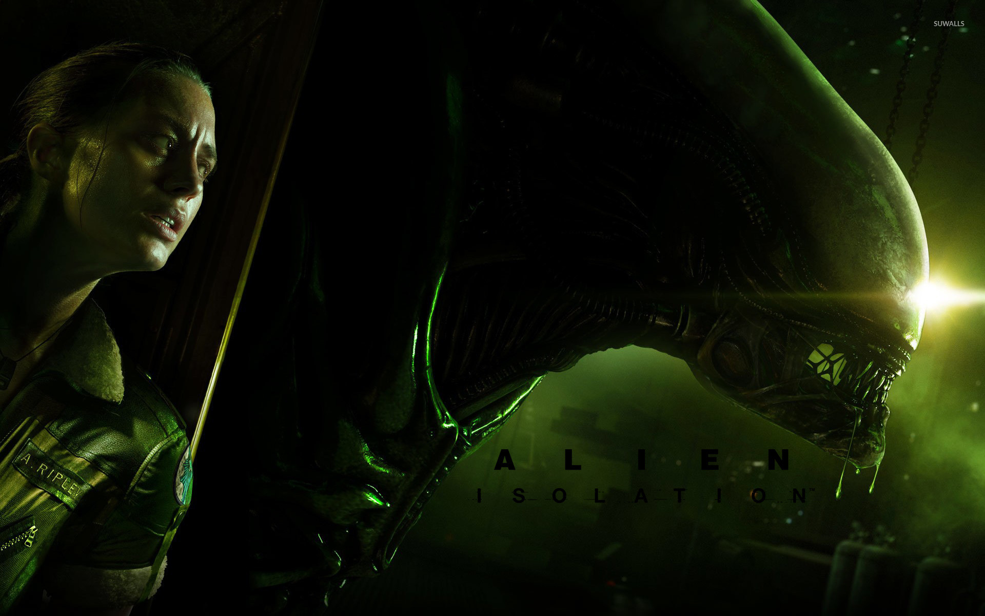 Alien Isolation 3 Wallpaper