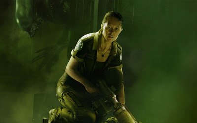 Alien: Isolation - Amanda Ripley wallpaper