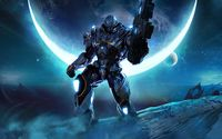 Alien warrior in Halo: Reach wallpaper 1920x1200 jpg