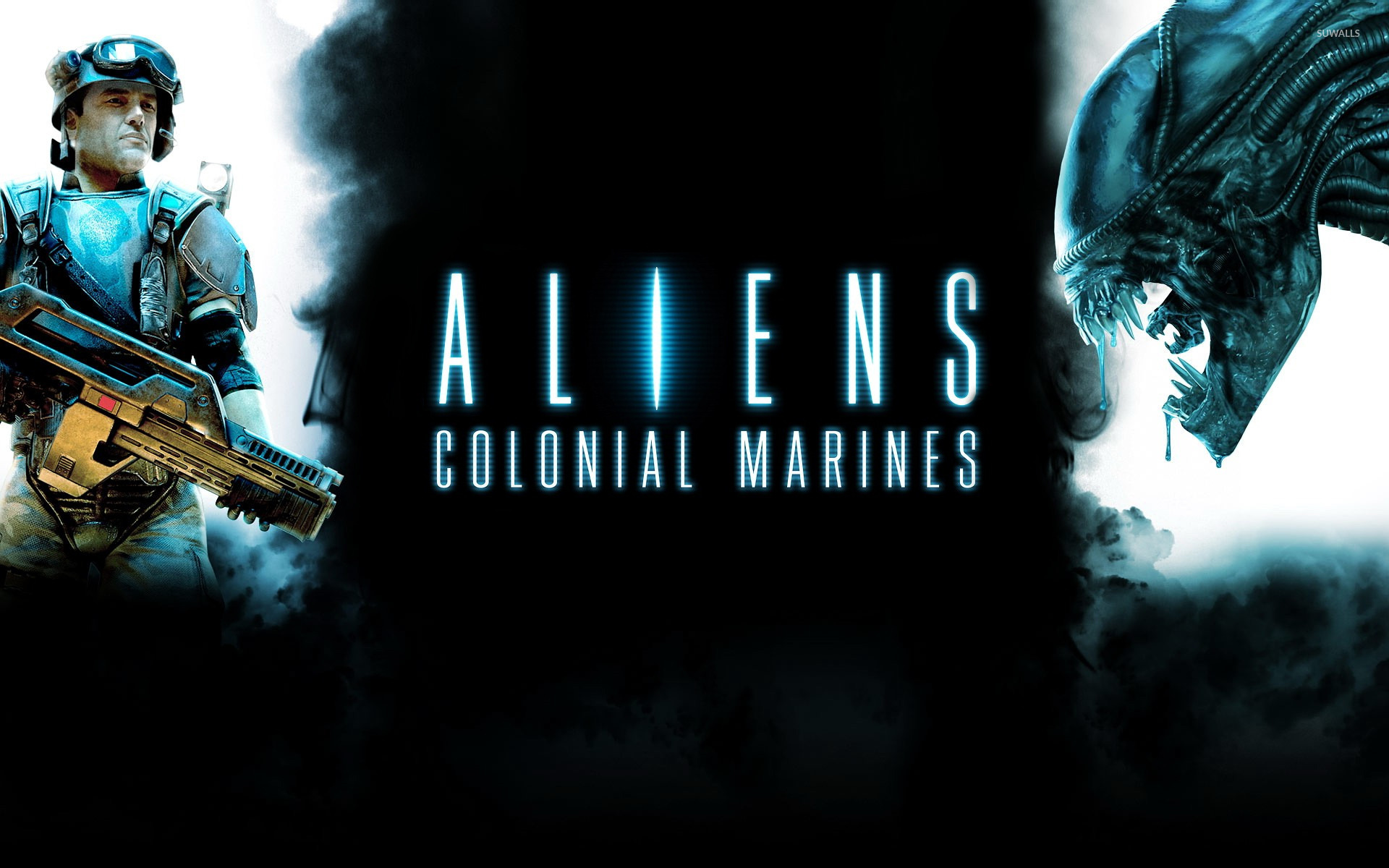 aliens colonial marines 5 wallpaper game wallpapers