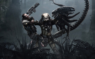 Aliens vs Predator wallpaper