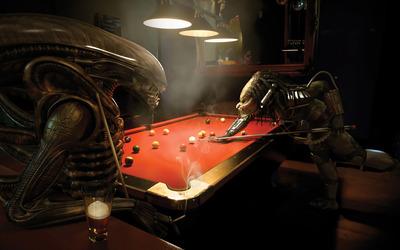 Aliens vs Predator Pool wallpaper