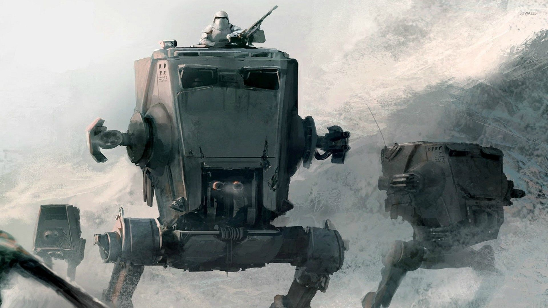 All Terrain Scout Transport Star Wars Wallpaper Game Wallpapers 30604