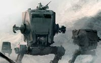 All Terrain Scout Transport - Star Wars wallpaper 1920x1080 jpg