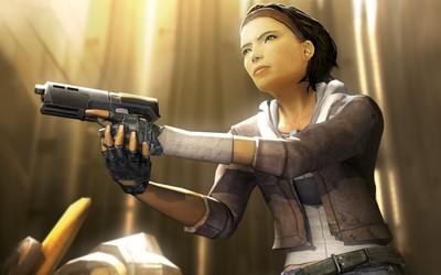 Alyx Vance - Half-Life 2 wallpaper