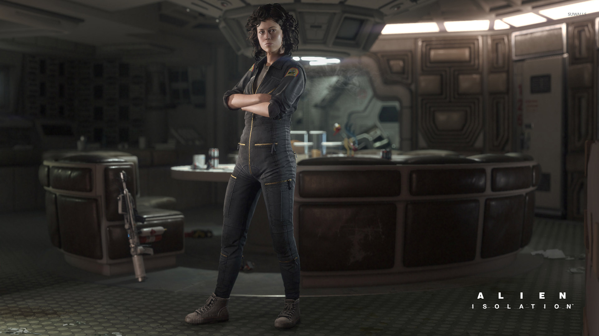 Amanda Ripley Alien Isolation Wallpaper Game Wallpapers