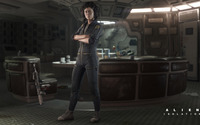 Amanda Ripley - Alien: Isolation wallpaper 1920x1080 jpg