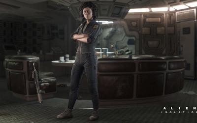 Amanda Ripley - Alien: Isolation wallpaper