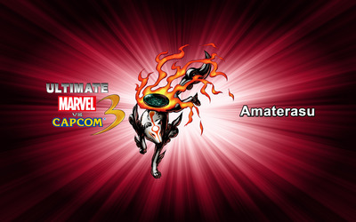 Amaterasu - Ultimate Marvel vs. Capcom 3 wallpaper