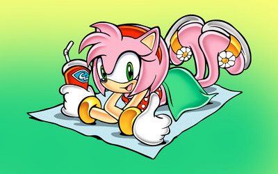 Amy Rose - Sonic the Hedgehog wallpaper