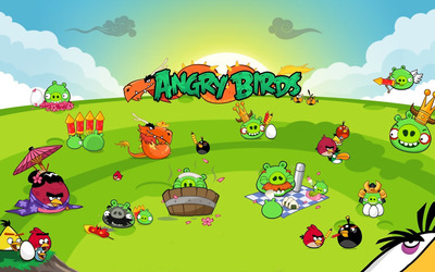 Angry Birds [3] wallpaper