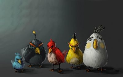 Angry Birds [4] wallpaper