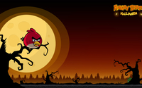 Angry Birds Seasons: Halloween wallpaper 1920x1080 jpg
