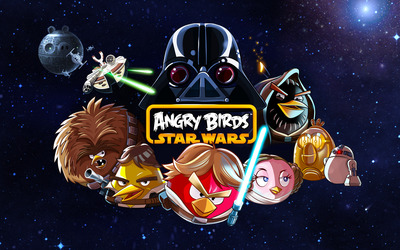 Angry Birds - Star Wars wallpaper