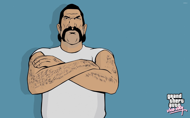 Angry Umberto Robina From Gta Vice City Wallpaper Game