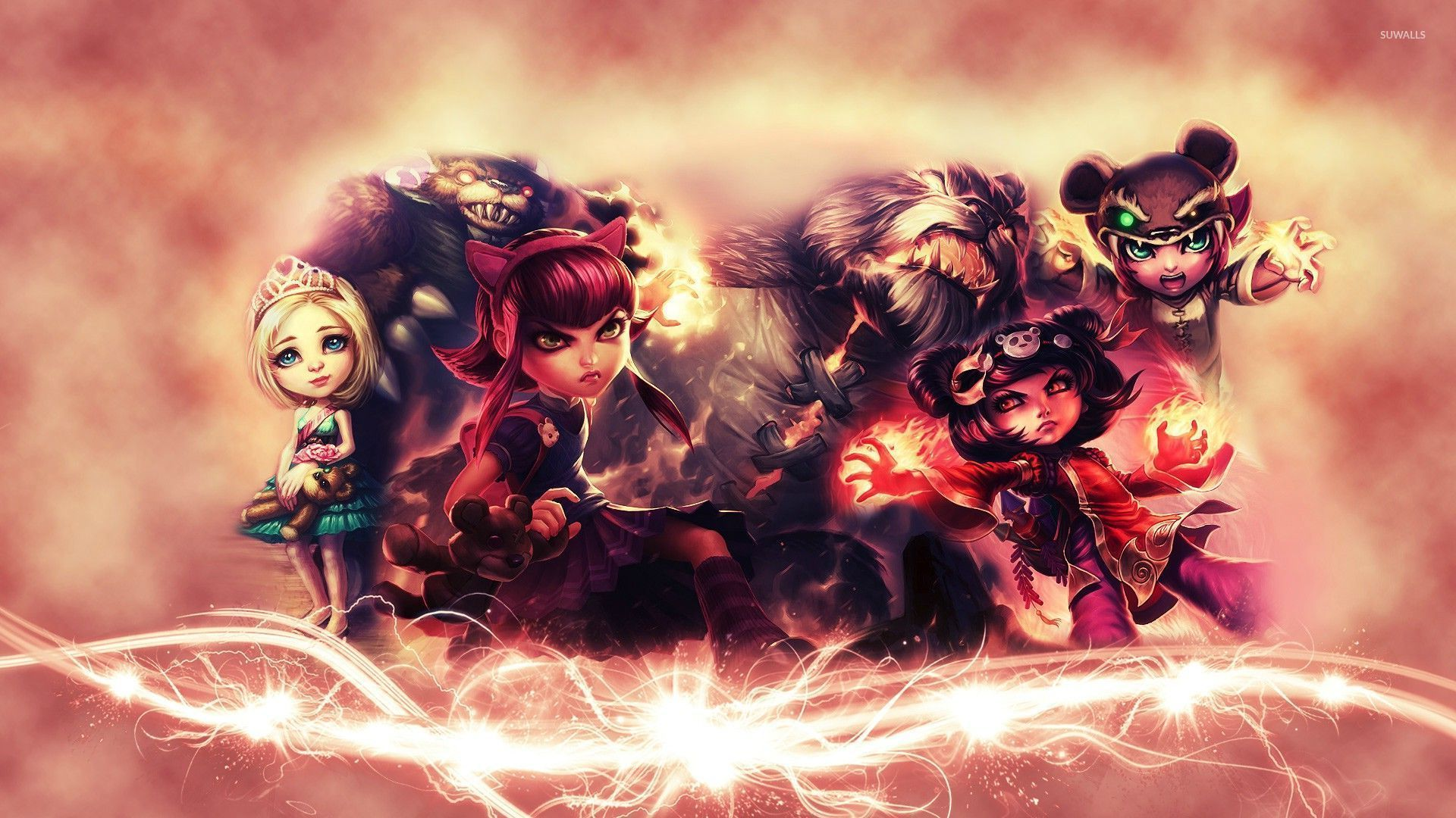 Annie League Of Legends Wallpaper Game Wallpapers 28550