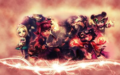 Annie - League of Legends wallpaper