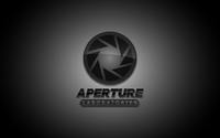 Aperture Laboratories from Portal wallpaper 1920x1200 jpg