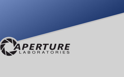 Aperture Laboratories logo [2] wallpaper