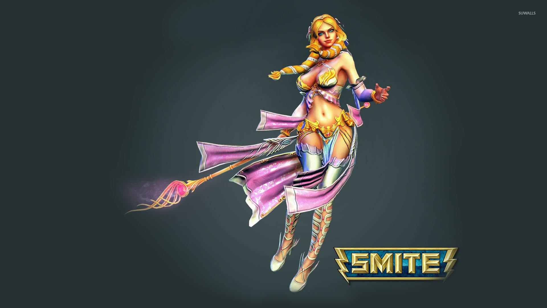 Smite Logo Wallpaper