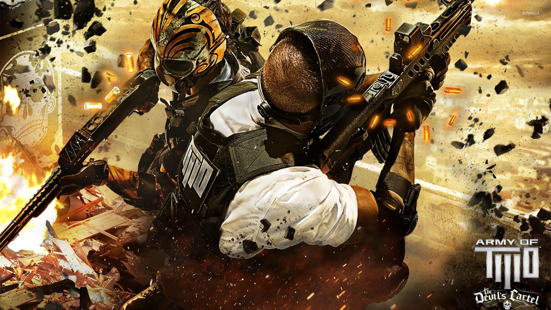 Army Of Two: The Devil's Cartel [2] Wallpaper