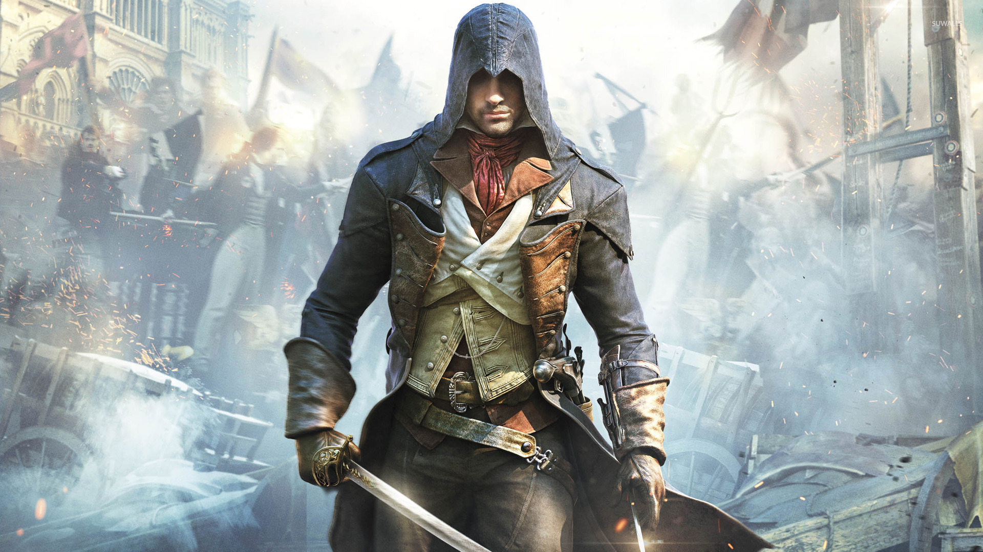 Arno Dorian Assassin S Creed Unity 2 Wallpaper Game Wallpapers 31903