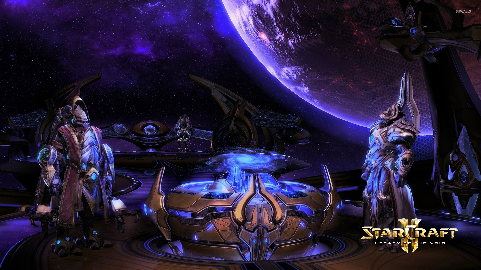 Artanis And Karax In Starcraft Ii Legacy Of The Void Wallpaper