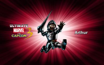 Arthur - Ultimate Marvel vs. Capcom 3 wallpaper