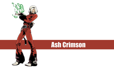 Ash Crimson - The King of Fighters wallpaper