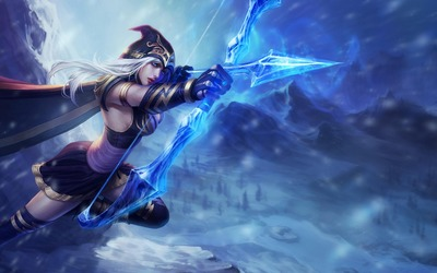 Ashe - League of Legends wallpaper