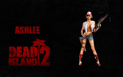 Ashlee - Dead Island 2 Wallpaper